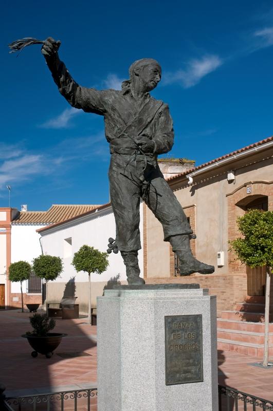 Monumento al Cirocho. Villanueva de los Castillejos