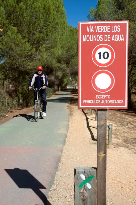 Vía Verde Los Molinos de Agua. Valverde del Camino