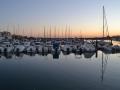 Barcos reflejados-Punta del Moral-10julio2012