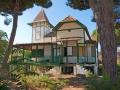 Casas de madera. Punta Umbría (Huelva).