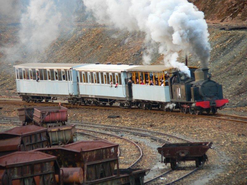 La locomotora más antigua de España
