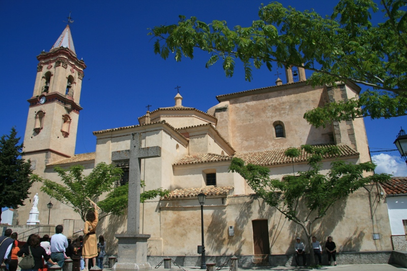 Cumbres Mayores. Iglesia de San Miguel.