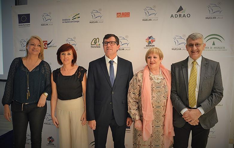 Pilar Cendrero, Mayte Jiménez, Antonio Beltrán, Ana Lasarte y Juan Antonio García.JPG