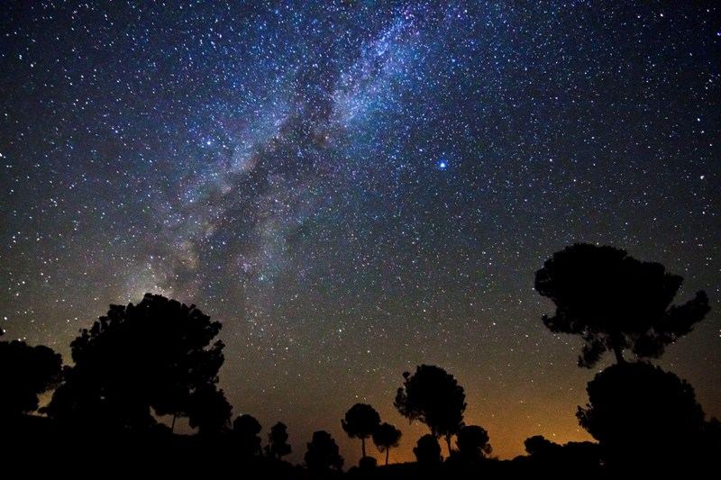 Estrellas en la Sierra de Aracena y Picos de Aroche