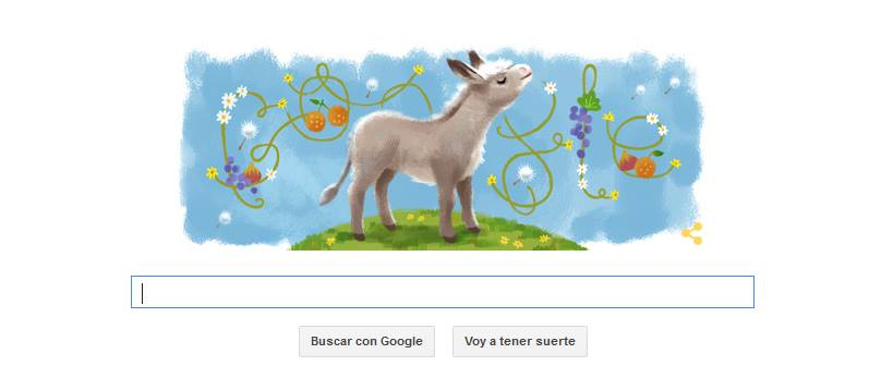 Doodle de Google del 12 de diciembre.