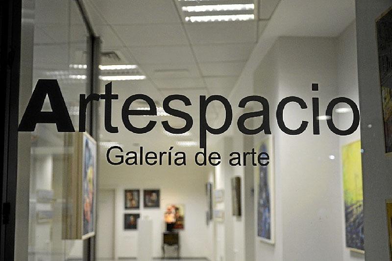 Artespacio, una galería de arte con un novedoso formato.
