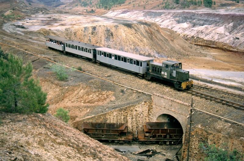 FFCC Tur+¡stico minero tracci+¦n gasoil