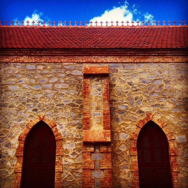 Iglesia anglicana en Bellavista. Autor: Angela Olaya.