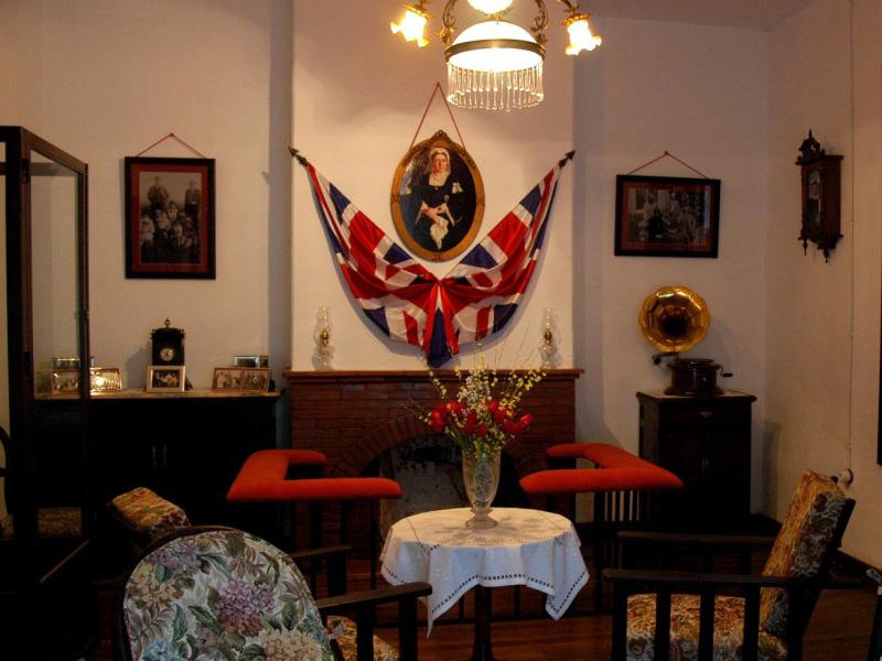 Salón principal de la Casa 21 de Bellavista.