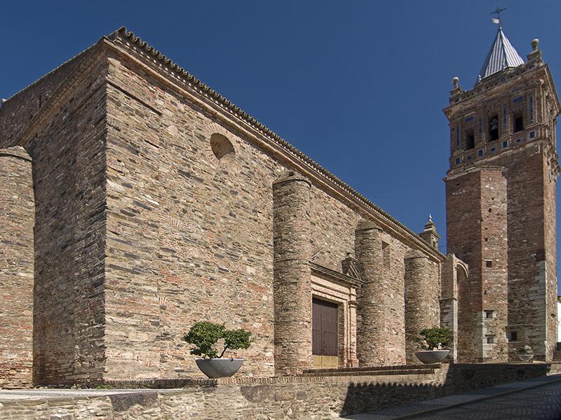 Iglesia de Santa María de la Asunción en Zalamea la Real.