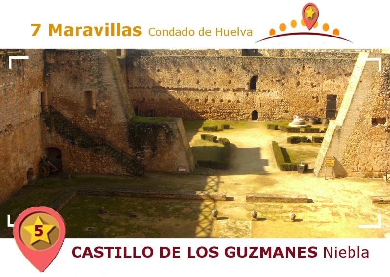 Castillo de los Guzmanes de Niebla.
