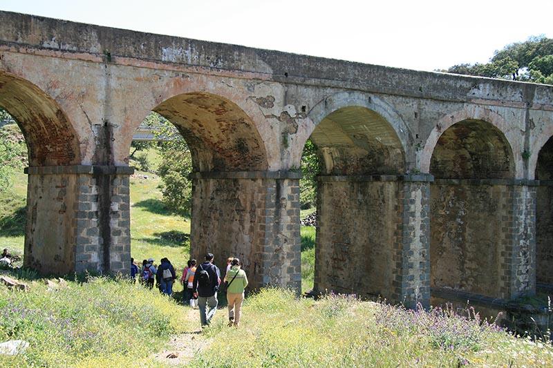 Puente de la Gitana. Arroyomolinos de León.