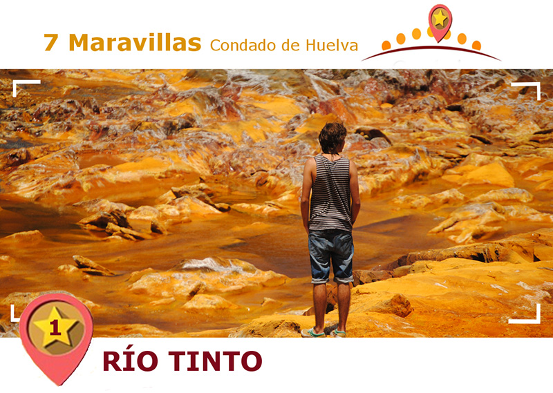 Río Tinto por el Condado.
