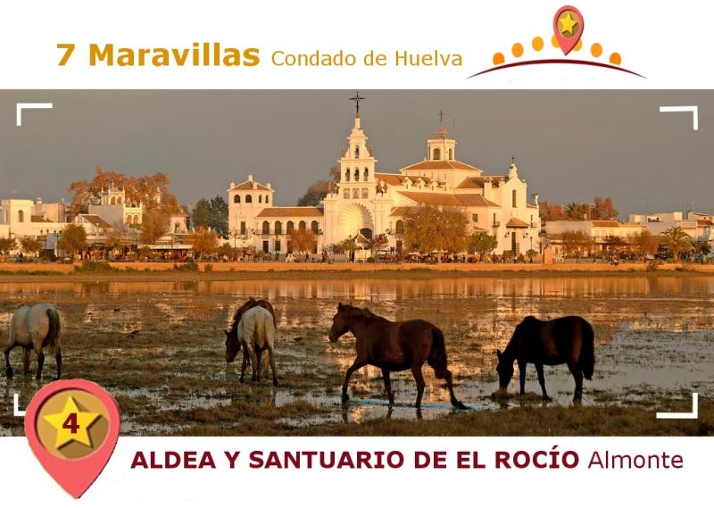Santuario y aldea de El Rocío.