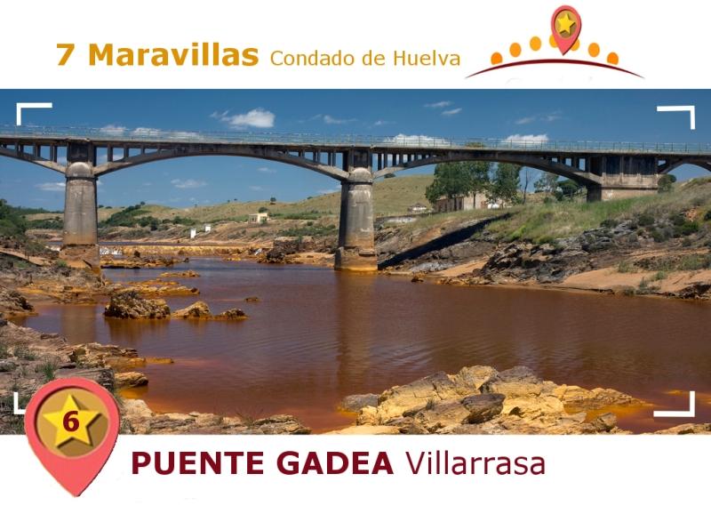 Puente Gadea. Villarrasa.