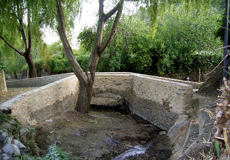 Puente romano de la Tenería en Almonaster la Real. Autor: Feliciano Martín Palomo.