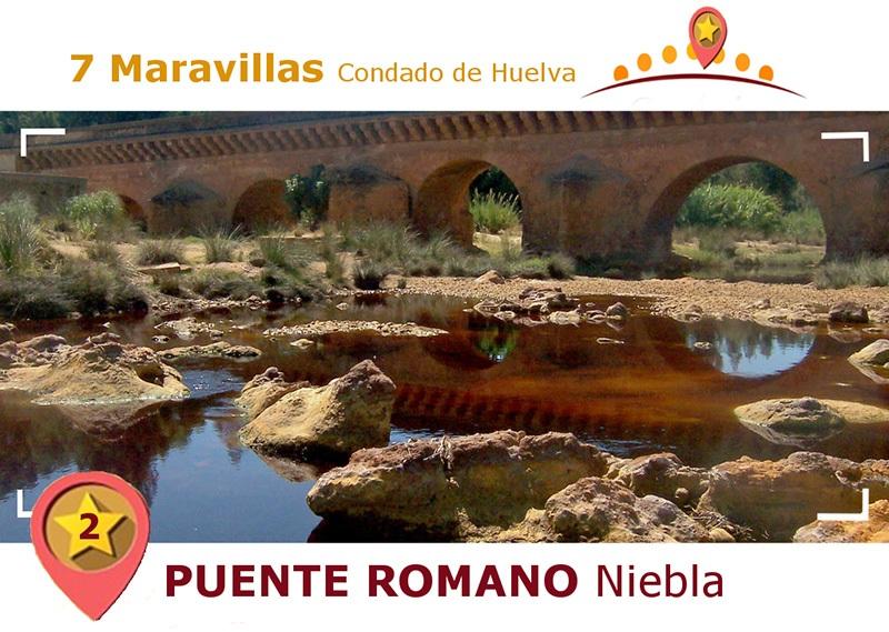 Puente romano de Niebla.