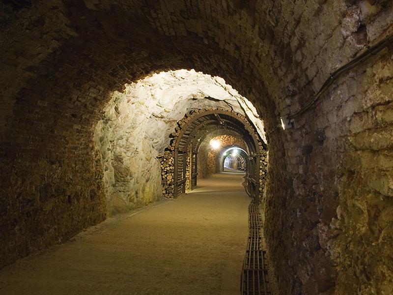 Túnel acceso Peña de Hierro