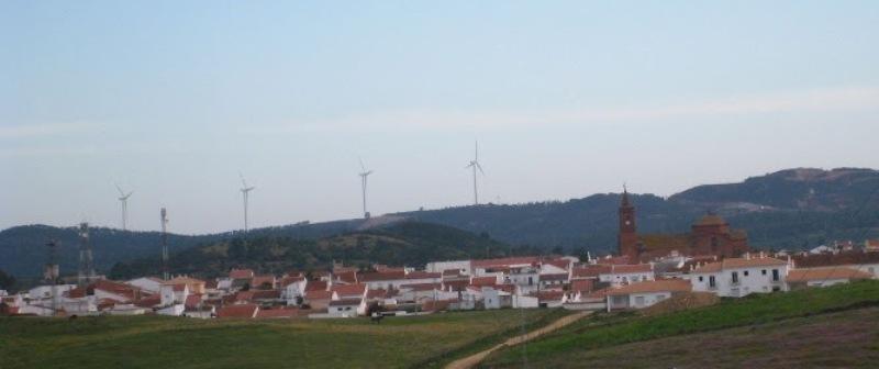 Vista del municipio andevaleño de Alonso.