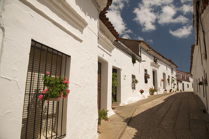 Calles de Hinojales.