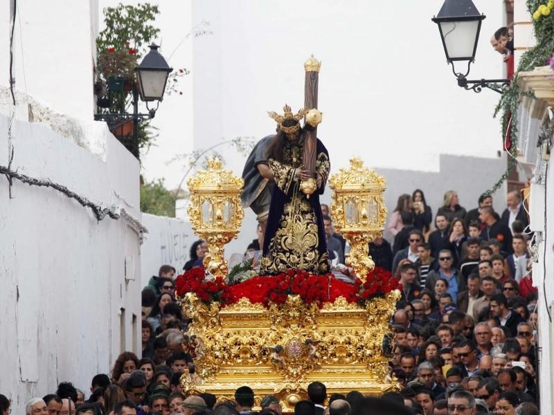 Paso de 'Padre Jesús' de Ayamonte.