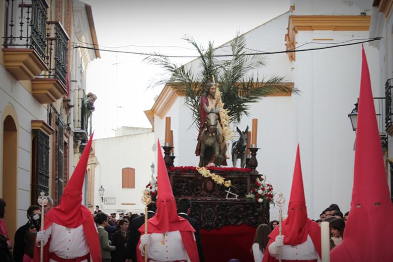 Domingo de Ramos en Bonares.