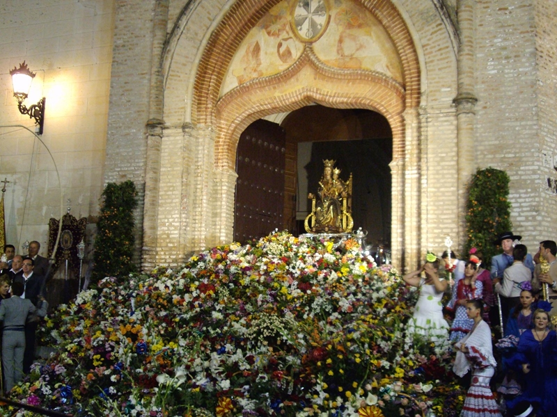 Ofrenda de Flores.