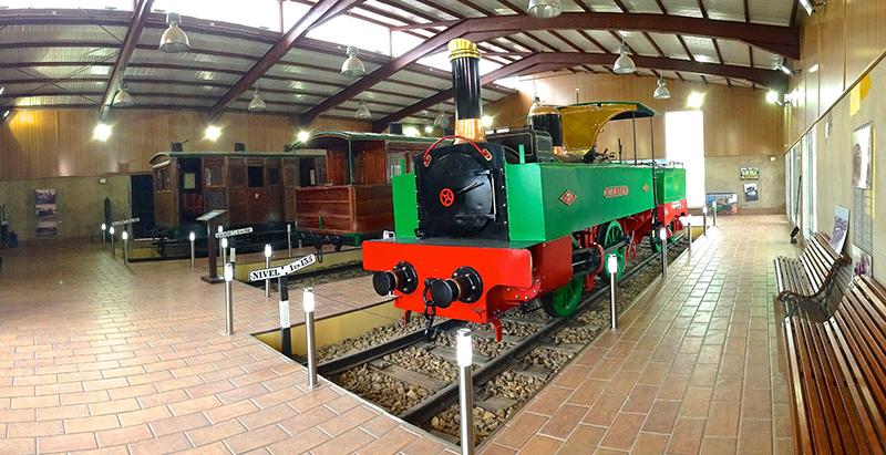 Museo minero de Tharsis.