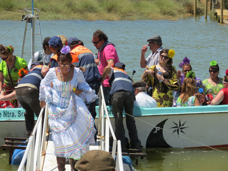 Llega de la Hermandad de Punta Umbría.