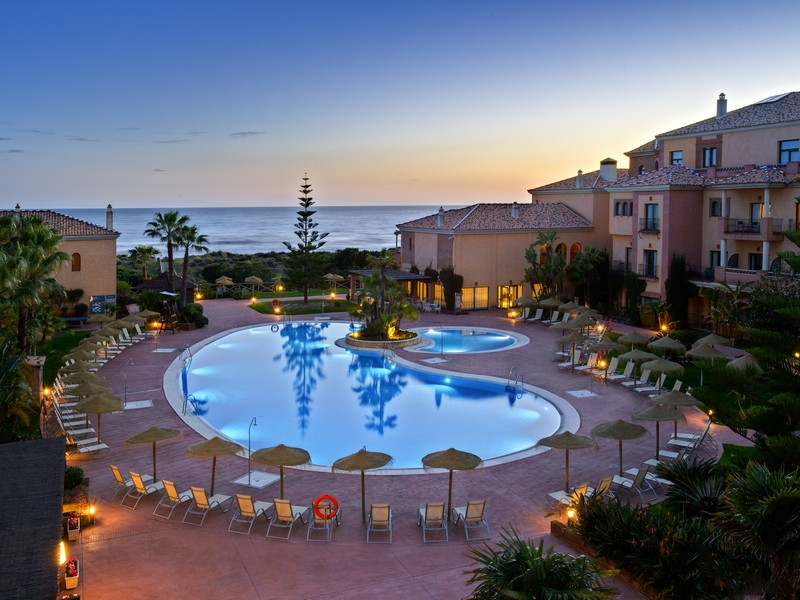 Vistas de un hotel de Punta del Moral (Ayamonte).
