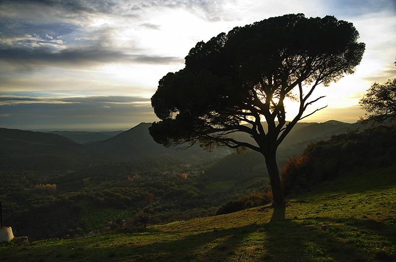 La Peña Arias Montano es un lugar mágico que te enamorará.